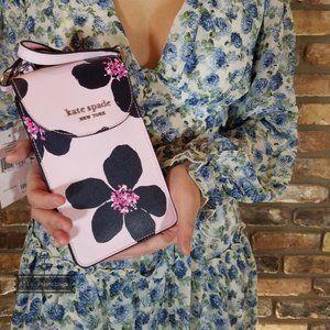 Kate Spade Small Flap Phone Crossbody Grand Flora